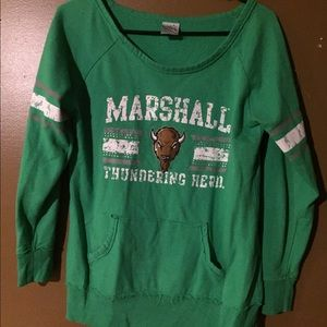 Sweaters - Marshall University sweat shirt🤓